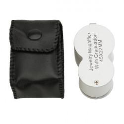 LED Förstoringsglas Ögon Lupp UV-detektor Valuta Identifiera