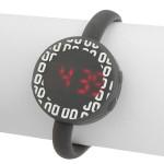 LED Silicon Elektronische Runde Sport Kinder Frauen Armbanduhr Uhren
