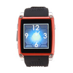 MQ668 MP3/MP4 FM Bluetooth TFT Touch Sreen Mobile Phone Watch Watch