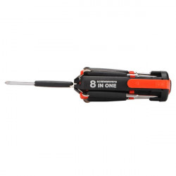 Multi Screwdriver 8 In One LED Powerful Torch Watch Tool