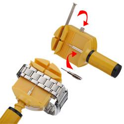 NEUE Uhrenarmband Bügel Verbindungpin Einsteller Remover Reparatur Werkzeug Set