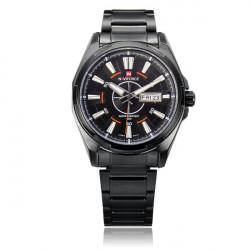 Naviforce NF9034M Military Black Week Date Men Wrist Watch