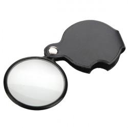New 5X Svart Mini Pocket Smycken Förstorings Förstoringsglas Lupp