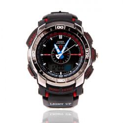 OHSEN AD1308 Men Waterproof Sport Calendar Rubber Wrist Watch