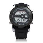 OTS 6355 Men 3 Dial Display Digital Sport Date Wrist Watch Watch