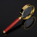 Läsa Förstorings 50mm Hand Held Förstoringsglas Urmakeriverktyg