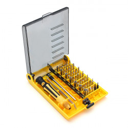 SIBTE 45pcs In 1 Screwdriver Watch Repair Tool set for Computer Laptop