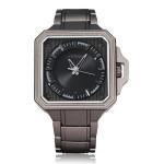 SINOBI Japan Movement Fashion Square Stainless Steel Quartz Watch Watch