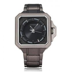 SINOBI Japan Movement Fashion Square Stainless Steel Quartz Watch