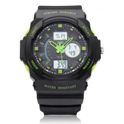 SKMEI 0955 Calendar Sport Black Rubber Digital Men Wrist Quartz Watch