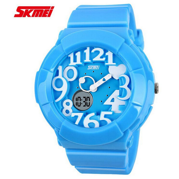 SKMEI 1020 Jelly Silicone Band LED Digital Waterproof Sport Watch Watch