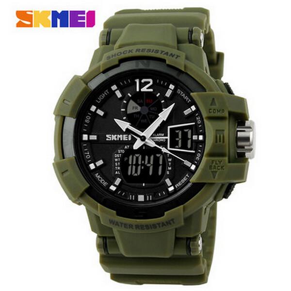 SKMEI 1040 Luminous Analog Digital Waterproof Sport Watch Watch