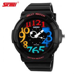 SKMEI 1042 Gelee Farben Silikon Band Sport Uhr