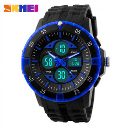 SKMEI 1046 Military LED Digital Analog Wasserdicht Quarz Sport Uhr