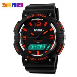 SKMEI 1057 Doppel Anzeige Analog Digital wasserdichte Quarz Sport Uhr