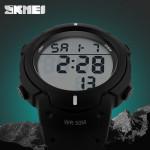 SKMEI 1068 LED Digital Stor Urtavla Warterproof Utomhus Sport Quartz Klocka Klockor