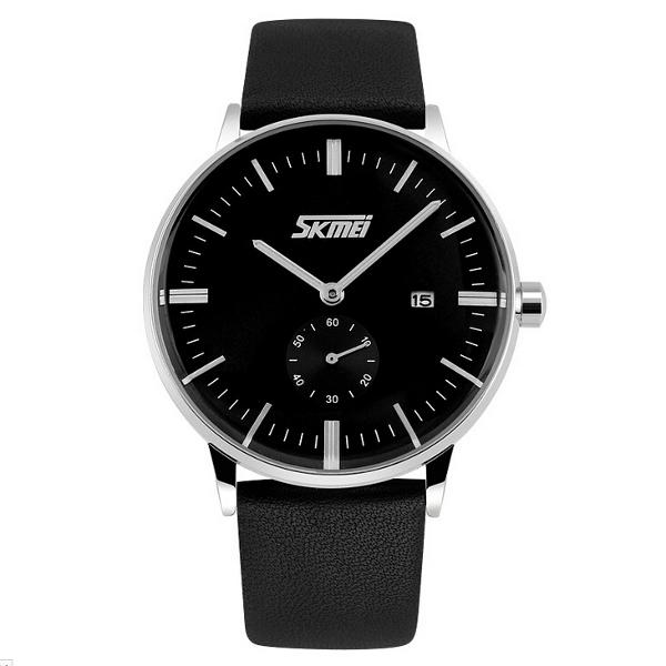 SKMEI 9083 Affärs Datum Vattentät Herr Armbandsur Klocka Klockor