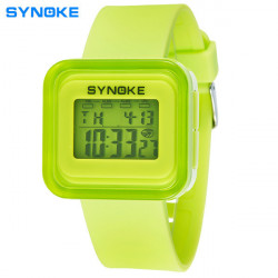 SYNOKE 66156 Children Digital Luminous Waterproof Sport Watch