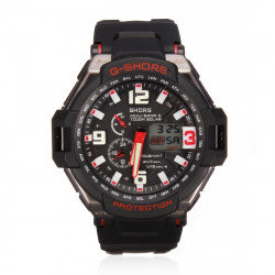 SYNOKE 67606 Super Waterproof Dual Display Sport Watch