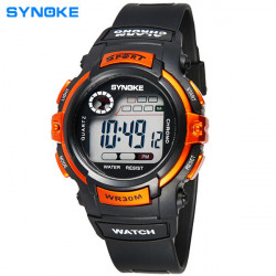 SYNOKE 99569 Children Luminous Digital Waterproof Sport Watch