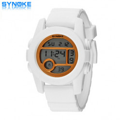 SYNOKE Boys Girls Silicone Swimming Waterproof Sport Watch
