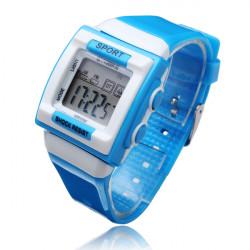 SYNOKE Mode Jungen Mädchen LED Alarm Wasserdicht Digital Armbanduhr