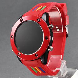 Silikon Uhr Digital LED
