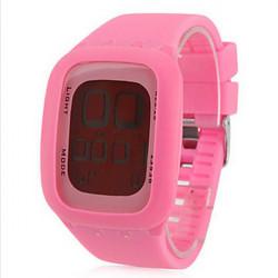 Silikone LED Digital Armbåndsur