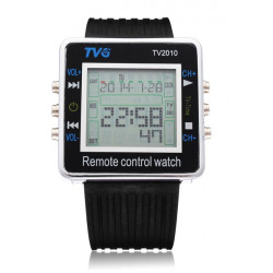 TVG Sport Digital Back Light TV DVD Remote Control Men Wrist Watch