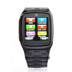 TW810 1.6inch Bluetooth JAVA MSN 1.3MP Touchscreen Männer Phone Watch