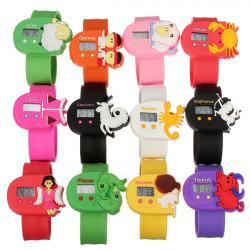 Die zwölf Konstellationen Kinder Elektronik Cartoon Pops Uhr