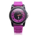 V6 Super Speed Spezial Silikon Band 5 Farben Quarz Uhr Uhren