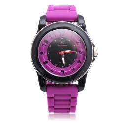 V6 Super Speed Special Silicone Band 5 Colors Quartz Watch