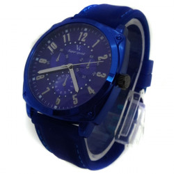V6 Super Speed Three Little dials Decoration Silicone Band Watch