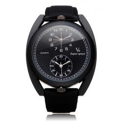 V6 V0158 Super Speed Big Dial Number Rubber Men Wrist Watch