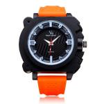V6 V0191 Super Speed Big Dial Number Rubber Men Wrist Watch Watch