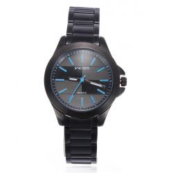 Wilon 1070 Blau Quarz Edelstahl Business Frauen Armbanduhr