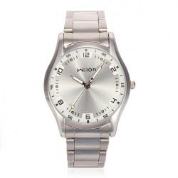 Wilon 960 Mann Quarz Edelstahl Art und Weise beiläufige Armbanduhr