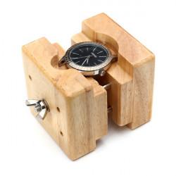 Hölzerner Uhr Kasten Halter Bewegung Reparatur Werkzeug Uhrmacher