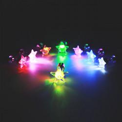 1pc Weihnachten Fünf Sterne Led Ohr Bolzen Tanzparty Zubehör