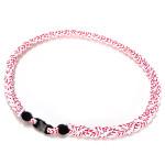 22 Inch Unisex 3-rope Weave Anion Energy Sport Bracelet Necklace Women Jewelry