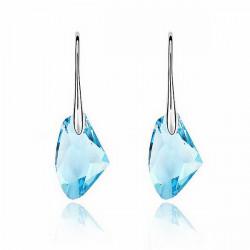 Candy Color Østrigske Krystal Ear Drop Øreringe Smykker