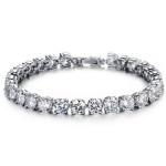 Cubic Zirconia Diamond Bride Armband Bröllop Smycken Fina Smycken