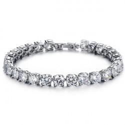 Cubic Zirconia Diamond Bride Armband Bröllop Smycken