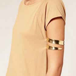 Gold Silber Stulpe Oberarm Armband Armband für Frauen