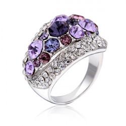 Lyx Österrikisk Crystal Rhinestone Ring för Kvinnor