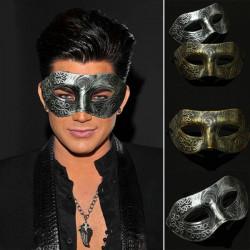 Retro Herr Roman Gladiator Eye Mask Venetian Maskeraden Maskerar
