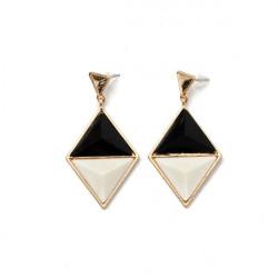 Triangle Geometriske Vedhæng Dingle Øreringe Eardrop for Kvinder