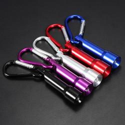 10lm Zündkerze Stil tragbare Mini LED Schlüsselanhänger Taschenlampe