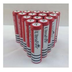 10PCS Ultra 18650 3000mAh 3.7V Li-ion Laddningsbart Batteri